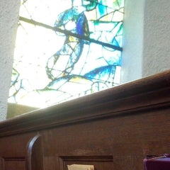 Photo taken at Union Church of Pocantico Hills by Paige P. on 5/5/2013