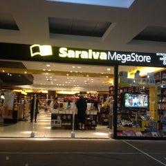 Photo taken at Saraiva MegaStore by Leticia on 4/21/2013