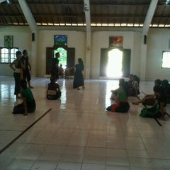 Photo taken at Aula SMAN 5 Denpasar by mella k. on 5/5/2013