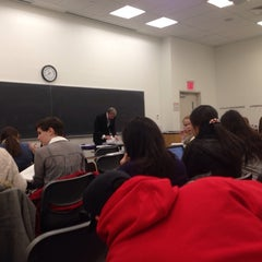 Photo taken at NYU Meyer Hall by Midori K. on 12/2/2013