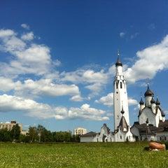 Photo taken at Парк Строителей by 🎾Dimichpit on 6/21/2013