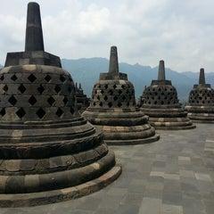 Photo taken at Candi Borobudur (Borobudur Temple) by Ady L. on 3/23/2013
