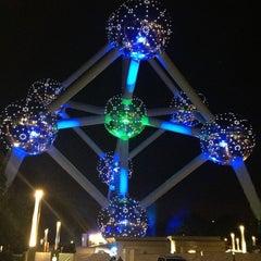Photo taken at Atomium by Bart B. on 6/29/2013