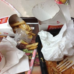 Photo taken at Wendy's by Brian Z. on 10/27/2012