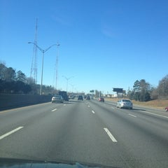 Photo taken at Interstate 85 by Tiffany H. on 12/22/2012