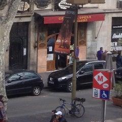 Photo taken at Hostal Mare Nostrum Barcelona by Esra Ö. on 3/12/2015
