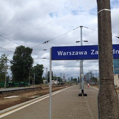 Photo taken at Warszawa Zachodnia by Michał G. on 7/30/2013