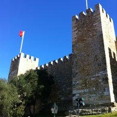 Photo taken at Castelo de São Jorge by Jim S. on 2/9/2013