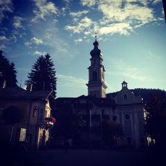 Photo taken at Toblach / Dobbiaco by Michele D. on 10/10/2014