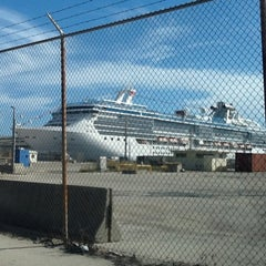Photo taken at Port Everglades by Pablo A. on 10/4/2012