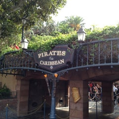 Photo taken at Pirates of the Caribbean by Zach P. on 10/6/2012