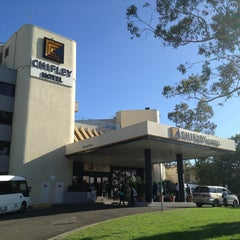Photo taken at Chifley Penrith Hotel by Chad M. on 2/19/2013