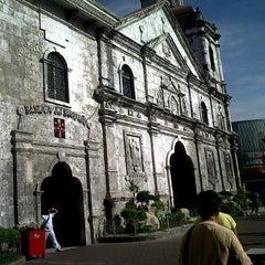 Photo taken at Basilica Minore del Santo Niño by Elvira A. on 3/29/2013