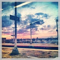 Photo taken at LIRR - Hicksville Station by Adrienne B. on 3/20/2013