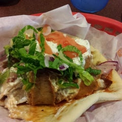 Photo taken at George's Pizza & Gyros by Ashley M. on 7/1/2013
