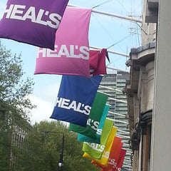Photo taken at Heal's by Justin F. on 5/13/2013