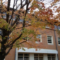 Photo taken at Wake Forest School of Law by Lisa S. on 11/5/2012