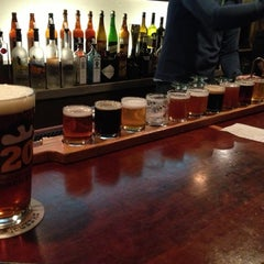 Photo taken at Portsmouth Brewery by Lindsay D. on 1/26/2013