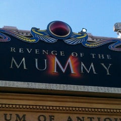 Photo taken at Revenge Of The Mummy by Joel B. on 11/10/2012