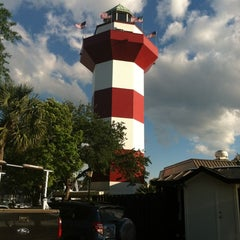 Photo taken at Harbour Town Lighthouse by Christi G. on 5/7/2013