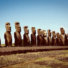 Photo taken at Isla de Pascua | Rapa Nui by Mitchell V. on 9/6/2013