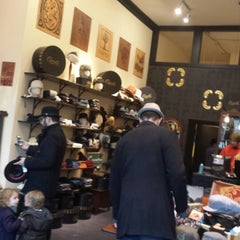 Photo taken at Goorin Bros. Hat Shop - Larimer Square by Brad Friedman on 1/31/2014