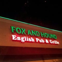 Photo taken at Fox and Hound by Jose Raul A. on 11/9/2012
