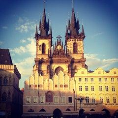 Photo taken at Staroměstské náměstí | Old Town Square by Ксения on 6/13/2013