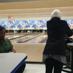 Photo taken at Buffaloe Lanes North Bowling Center by LaMont'e B. on 11/16/2014