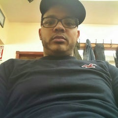 Photo taken at Dominguez Barbershop by Marcos S. on 3/2/2013