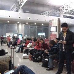 Photo taken at Ningbo Lishe International Airport (NGB) 宁波栎社国际机场 by Hans J. on 1/18/2013