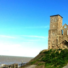 Photo taken at Reculver Towers and Roman Fort by Ingo F. on 4/4/2015
