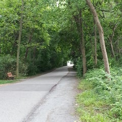 Photo taken at Capital Crescent Trail - Bethesda by Scott S. on 6/9/2013