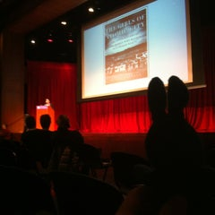 Photo taken at NYU Eisner and Lubin Auditorium by greenie m. on 3/11/2013