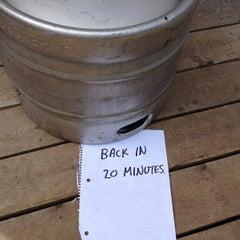 Photo taken at Monhegan Brewing Company by Tony B. on 7/24/2013