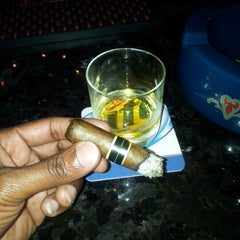Photo taken at Stanley's Cigar Lounge by Shannon M. on 10/7/2012