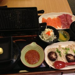 Photo taken at MOF の My Izakaya, Japanese Casual Resturant & Cafe by Phei aun T. on 10/19/2012