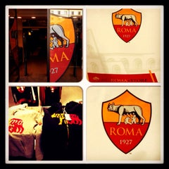 Photo taken at AS Roma Store by Aydin İ. on 2/14/2015