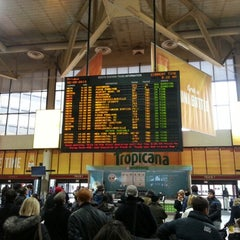 Photo taken at MBTA South Station by Mauricio V. on 2/8/2013