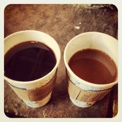 Photo taken at Caribou Coffee by Gabrielle F. on 10/28/2012
