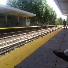 Photo taken at Estación Malaver [Línea Mitre] by Dickson F. on 1/25/2013