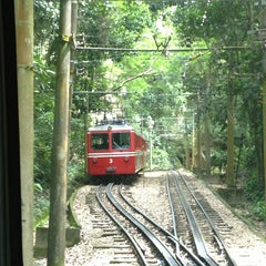 Photo taken at Trem do Corcovado by Laís R. on 4/2/2013