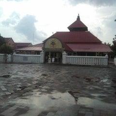 Photo taken at Masjid Gedhe Kauman by Maz P. on 11/25/2015