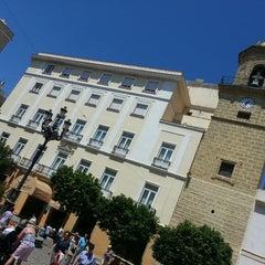 Photo taken at Plaza S. CRISTO de La Vera Cruz by S. on 5/11/2014