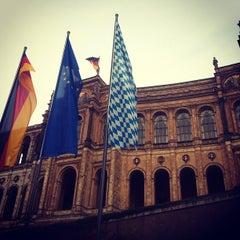 Photo taken at Bayerischer Landtag by Bryan M. on 10/15/2012