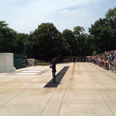 Photo taken at Tomb of the Unknowns by Joseph W. on 6/11/2012
