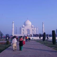 Photo taken at Agra | आगरा |آگره by Sharath S. on 12/27/2014