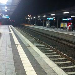 Photo taken at Speyer Hauptbahnhof by Denise J. on 12/25/2012