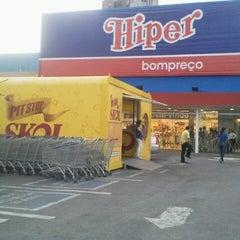Photo taken at Hiper Bompreço by Geo S. on 9/22/2012