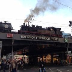 Photo taken at Bahnhof Berlin Friedrichstraße by André G. on 6/4/2013
